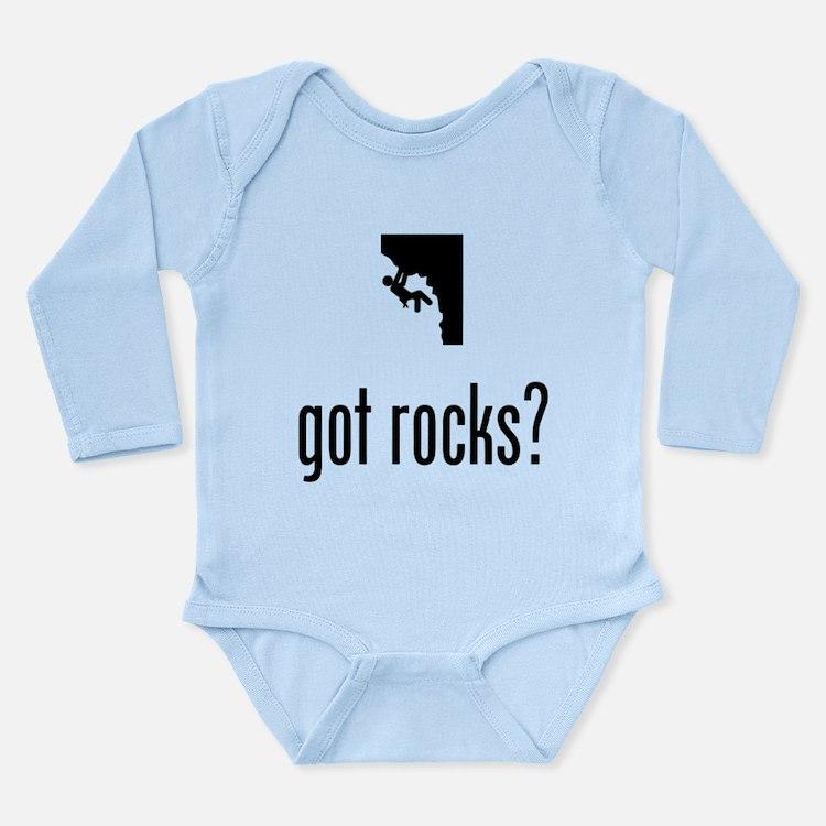 Rock Climbing Long Sleeve Infant Bodysuit