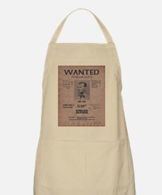 Jesse James Wanted Poster Apron