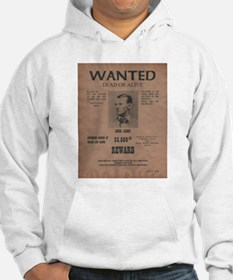 Jesse James Wanted Poster Hoodie