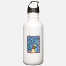 Joy to the World.png Water Bottle