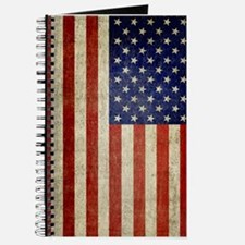 Vintage USA Flag Journal