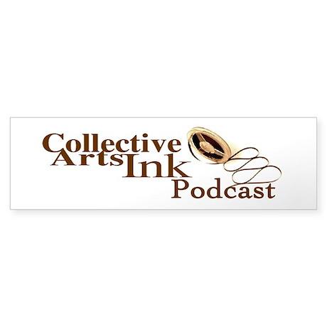 The CollectiveArtsInk Podcast Bumper Sticker