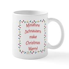 Merry Mini Schnauzer Mug