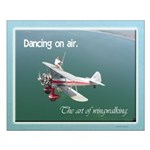 The art of wingwalking Small Poster