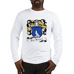 Von Bergen Coat of Arms Long Sleeve T-Shirt