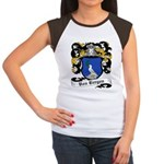 Von Bergen Coat of Arms Women's Cap Sleeve T-Shirt
