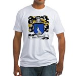 Von Bergen Coat of Arms Fitted T-Shirt