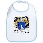 Von Bergen Coat of Arms Bib