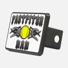Fastpitch Dad Tribal Hitch Cover