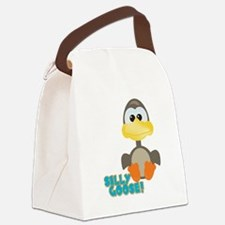 silly goose.png Canvas Lunch Bag