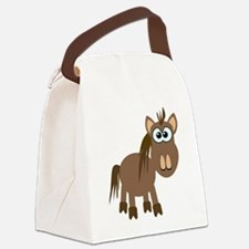 horse.png Canvas Lunch Bag