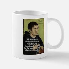 If It Were Art - Martin Luther Mug