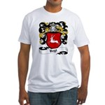 Vogt Coat of Arms Fitted T-Shirt
