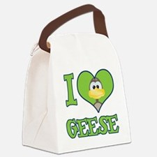 love geese.png Canvas Lunch Bag