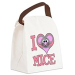 love mice.png Canvas Lunch Bag