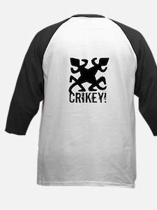 Crocs Rule Crikey Kids Baseball Jersey