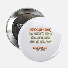 Crocs Rule Crikey Button