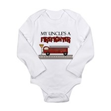 My Uncle's A Firefighter Body Suit