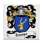 Trampe Coat of Arms Tile Coaster