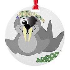 pirate walrus.png Ornament