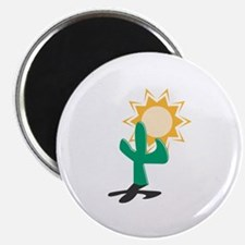 """Cactus in the Sun 2.25"""" Magnet (10 pack)"""