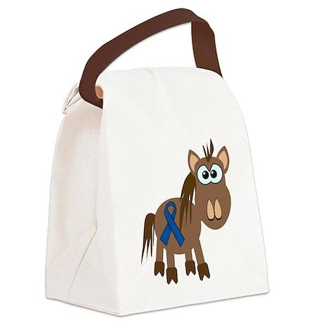 blue ribbon horse copy.png Canvas Lunch Bag