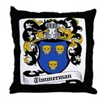 Timmerman Coat of Arms Throw Pillow