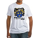 Timmerman Coat of Arms Fitted T-Shirt