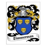 Timmerman Coat of Arms Small Poster