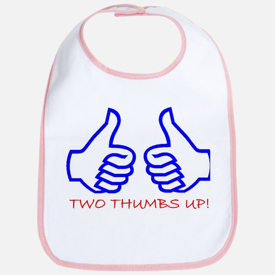 TWO THUMBS UP! Bib