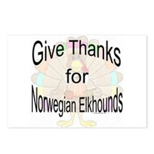 Thanks for Elkhound Postcards (Package of 8)