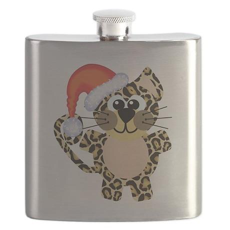 leopard santa.png Flask