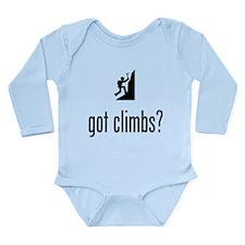 Mountain Climbing Long Sleeve Infant Bodysuit
