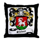 Steiner Coat of Arms Throw Pillow