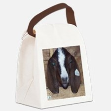 Cute Young Boar goat Canvas Lunch Bag