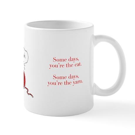 Cat vs. Yarn Mug