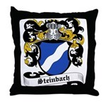 Steinbach Coat of Arms Throw Pillow