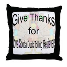 Thanks for Nova Scotia Throw Pillow
