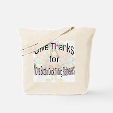 Thanks for Nova Scotia Tote Bag