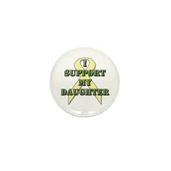 I Support My Daughter Mini Button (100 pack)
