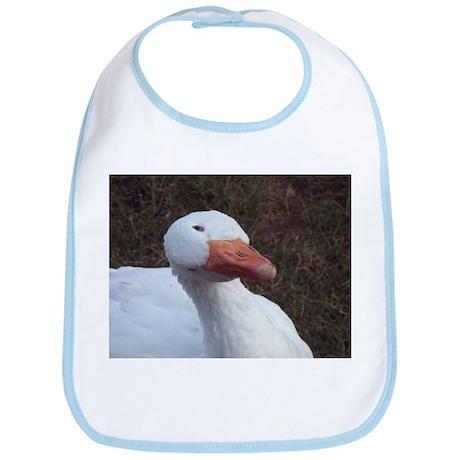 Goose with tip head Bib
