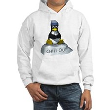Chill Out Penguin Hoodie