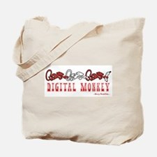 DIGITAL MONKEY Tote Bag