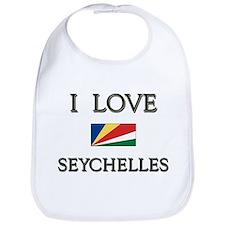 Flag of Seychelles Bib