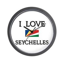 Flag of Seychelles Wall Clock