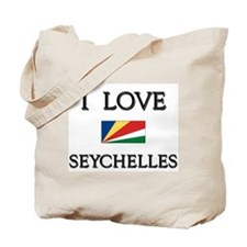 Flag of Seychelles Tote Bag