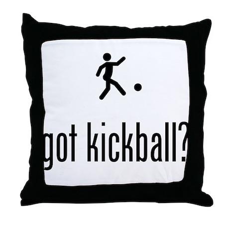 Kickball Throw Pillow