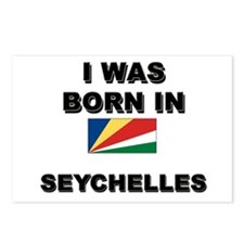 I Was Born In Seychelles Postcards (Package of 8)