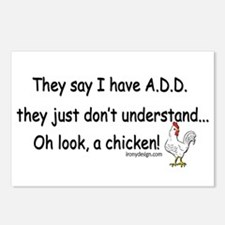 ADD Chicken Postcards (Package of 8)