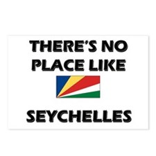 There Is No Place Like Seychelles Postcards (Packa
